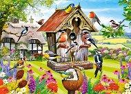Къщичка за птици - пъзел
