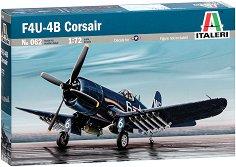 Американски военен самолет - Corsair F4U/4B - Сглобяем авиомодел -