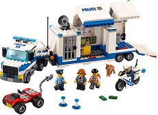 """Мобилен команден център - Детски конструктор от серията """"LEGO City"""" - играчка"""