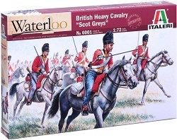 Британска тежка кавалерия - Комплект от 18 фигури -
