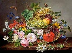 Кошница с плодове - пъзел