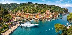 Портофино, Италия - панорама - пъзел