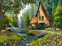 Къща в гората -