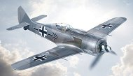 Германски изтребител - Wulf FW 190 A-8 - Сглобяем авиомодел -
