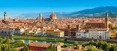 Флоренция, Италия - панорама - пъзел