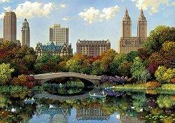 Мост в Сентрал парк, Ню Йорк - Александър Чен (Alexander Chen) - пъзел