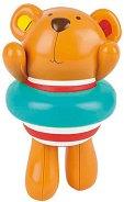 Мече Теди - Плувец - Детска играчка за баня -