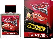 """La Rive Disney Pixar Cars 3 EDT - Детски парфюм от серията """"Колите"""" - парфюм"""