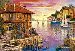 Пристанище, Средиземно море - Доминик Дейвисън (Dominic Davison) - пъзел