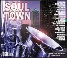 Soul Town: 75 Essential Hits - 3 CD Box - албум