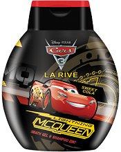 """La Rive Disney Pixar Cars 3 Bath Gel & Shampoo 2 in 1 - Душ гел и шампоан за деца 2 в 1 от серията """"Колите"""" -"""
