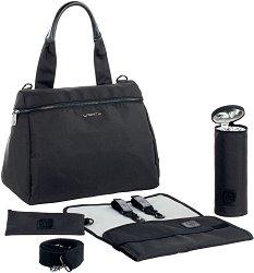 """Чанта - Glam Rosie - Аксесоар за детска количка с подложка за преповиване и термобокс от серията """"4Family"""" - чанта"""