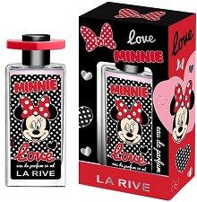 """La Rive Minnie Love EDP - Детски парфюм от серията """"Мини Маус"""" -"""