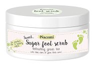 Nacomi Shugar Foot Scrub Refreshing Green Tea - Захарен ексфолиант за крака с аромат на зелен чай -