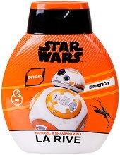 """La Rive Star Wars Droid Bath Gel & Shampoo 2 in 1 - Душ гел и шампоан за мъже 2 в 1 от серията """"Star Wars"""" -"""