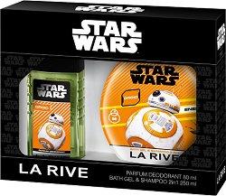 """La Rive Star Wars Droid - Подаръчен комплект за мъже с козметика за тяло от серията """"Star Wars"""" -"""