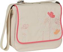 """Чанта - Basic Messenger - Аксесоар за детска количка с подложка за преповиване и термобокс от серията """"4Family"""" - чанта"""