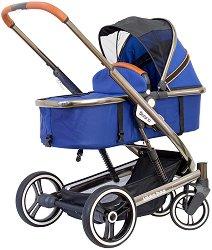 Комбинирана бебешка количка - Divaina - С 4 колела -
