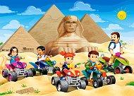 Бъгита на пирамидите в Гиза - пъзел