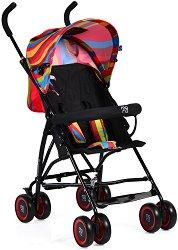 Лятна бебешка количка - Billy - С 4 колела -