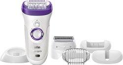 Braun Silk-epil 9 - 9-561 Wet & Dry - Епилатор за лице и тяло за суха и мокра епилация - продукт