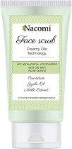 Nacomi Acne-Control Face Scrub - Ексфолиант за лице за склонна към акне кожа - продукт