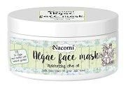 Nacomi Algae Face Mask Moisturizing Olive Oil - Хидратираща маска за лице с водорасли и масло от маслина - шампоан
