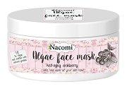 Nacomi Algae Face Mask Anti-Aging Cranberry - Маска за лице против бръчки с водорасли и червена боровинка - крем