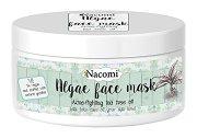 Nacomi Algae Face Mask Acne-Fighting Tea Tree Oil - Маска за лице против акне с водорасли и чаено дърво - продукт