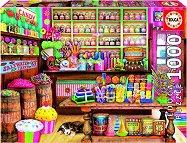 Магазин за сладки - пъзел