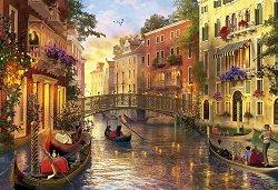 Венеция по залез слънце -