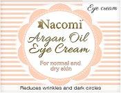 Nacomi Argan Oil Eye Cream - Околоочен крем с масла от арган и гроздови семки -