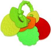 Дрънкалка с дъвкалка - Плодчета - Играчка за детска количка или легло - играчка