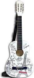 Класическа китара - Париж - Дървен детски музикален инструмент -