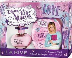 """La Rive Disney Violetta Love - Детски козметичен комплект от серията """"Violetta"""" -"""