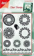 Силиконови печати - Коледна украса - Размер 10.5 х 14.8 cm -