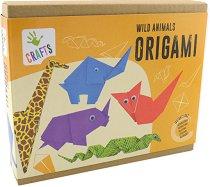 Оригами - Диви животни - Творчески комплект -