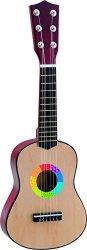 Китара - Дървен детски музикален инструмент -
