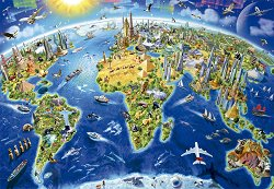 Световни забележителности - Глобус -