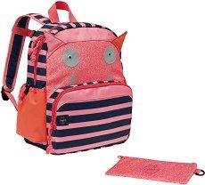 """Раница за детска градина - Little Monsters - Комплект с несесер от серията """"4Babies & Kids"""" - продукт"""