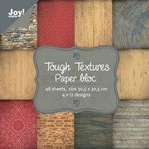Хартии за скрапбукинг - Tough Textures - Комплект от 48 листа