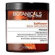 """L'Oreal Botanicals Safflower Rich Infusion Mask - Маска за суха коса с шафранка от серията """"Botanicals - Safflower"""" - крем"""