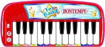 Електронен синтезатор с 24 клавиша - Детски музикален инструмент - творчески комплект