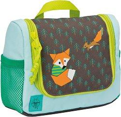 Детски несесер за тоалетни принадлежности - Little Tree Fox -