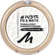 Manhattan Insta Fix & Matte Translucent Finishing Powder - Фиксираща пудра за лице с матов ефект - маска