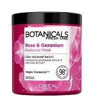 """L'Oreal Botanicals Geranium Radiance Remedy Mask - Маска за боядисана коса със здравец от серията """"Botanicals - Geranium"""" -"""
