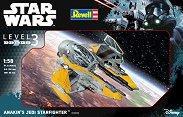 """Космическият кораб на Анакин Скайуокър - Сглобяем модел от серията""""Revell: Star Wars"""" -"""
