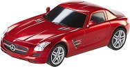 Автомобил - Mercedes SLS AMG - Играчка с дистанционно управление и светлинни ефекти - количка