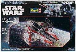 """Космически кораб на Оби-Уан Кеноби - Сглобяем модел от серията """"Revell: Star Wars"""" -"""