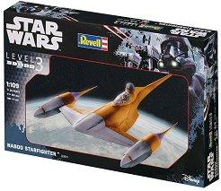 """Космически кораб - Naboo - Сглобяем модел от серията """"Star Wars"""" -"""